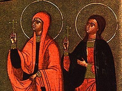 St. Eupraxia of Tabbenisi, Egypt, c. 382-c.412