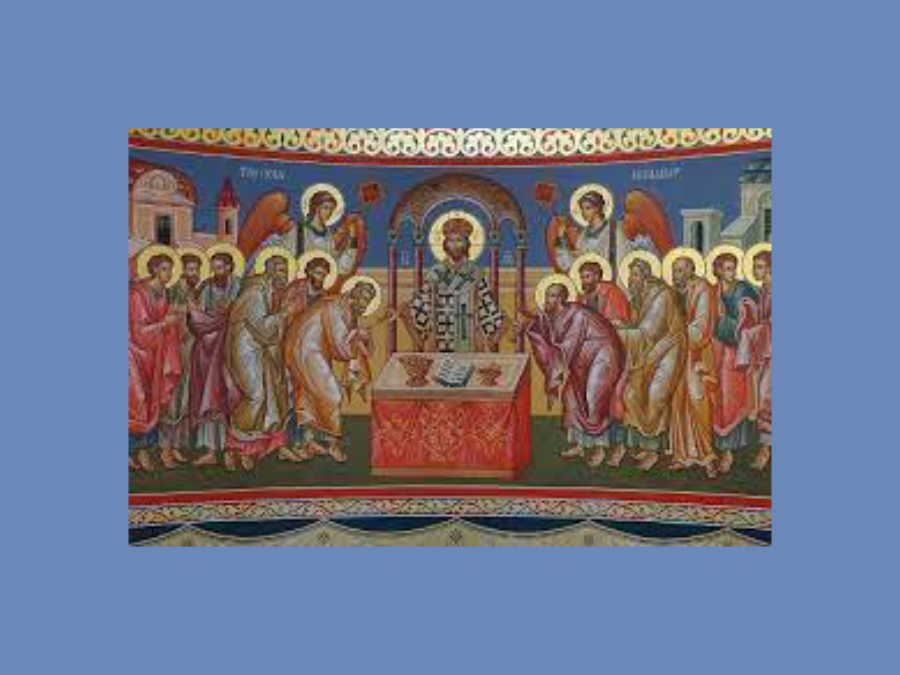 Signing of Nicene Creed in 325